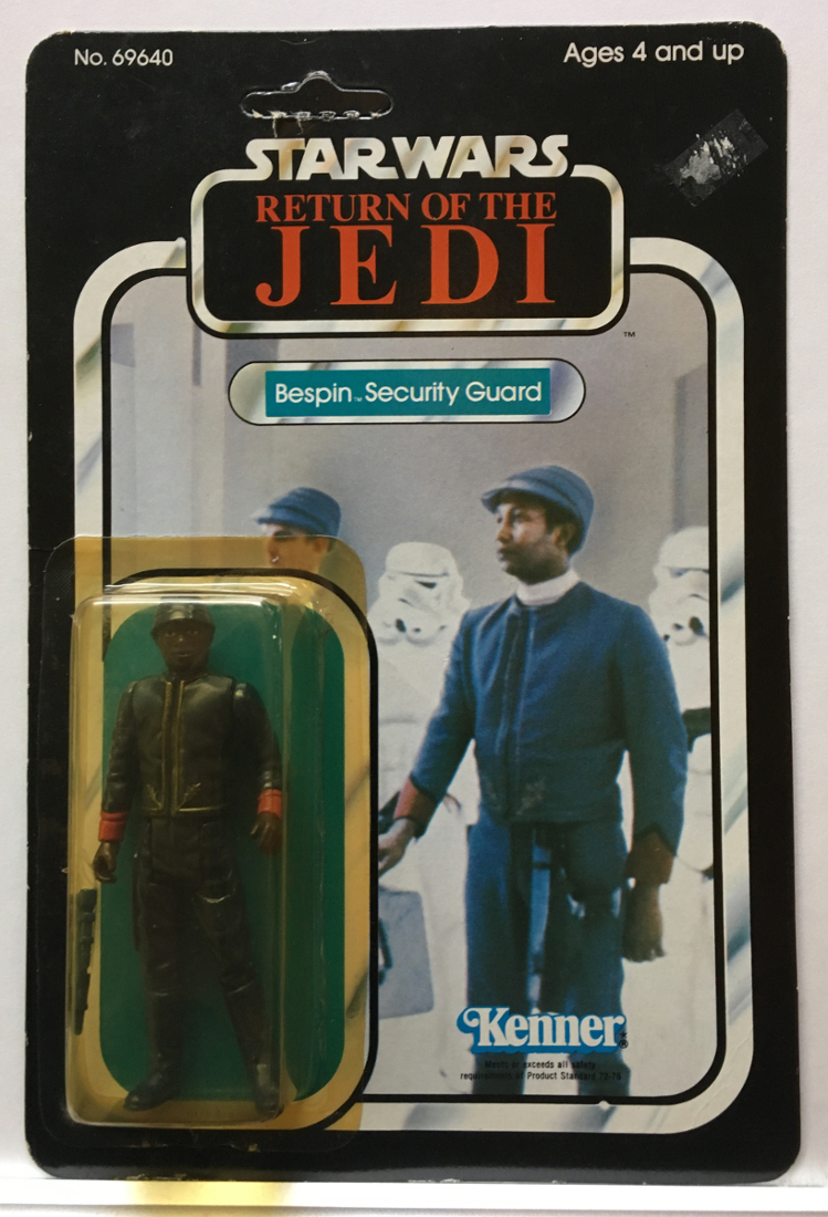 star wars kenner bespin security guard ii 1