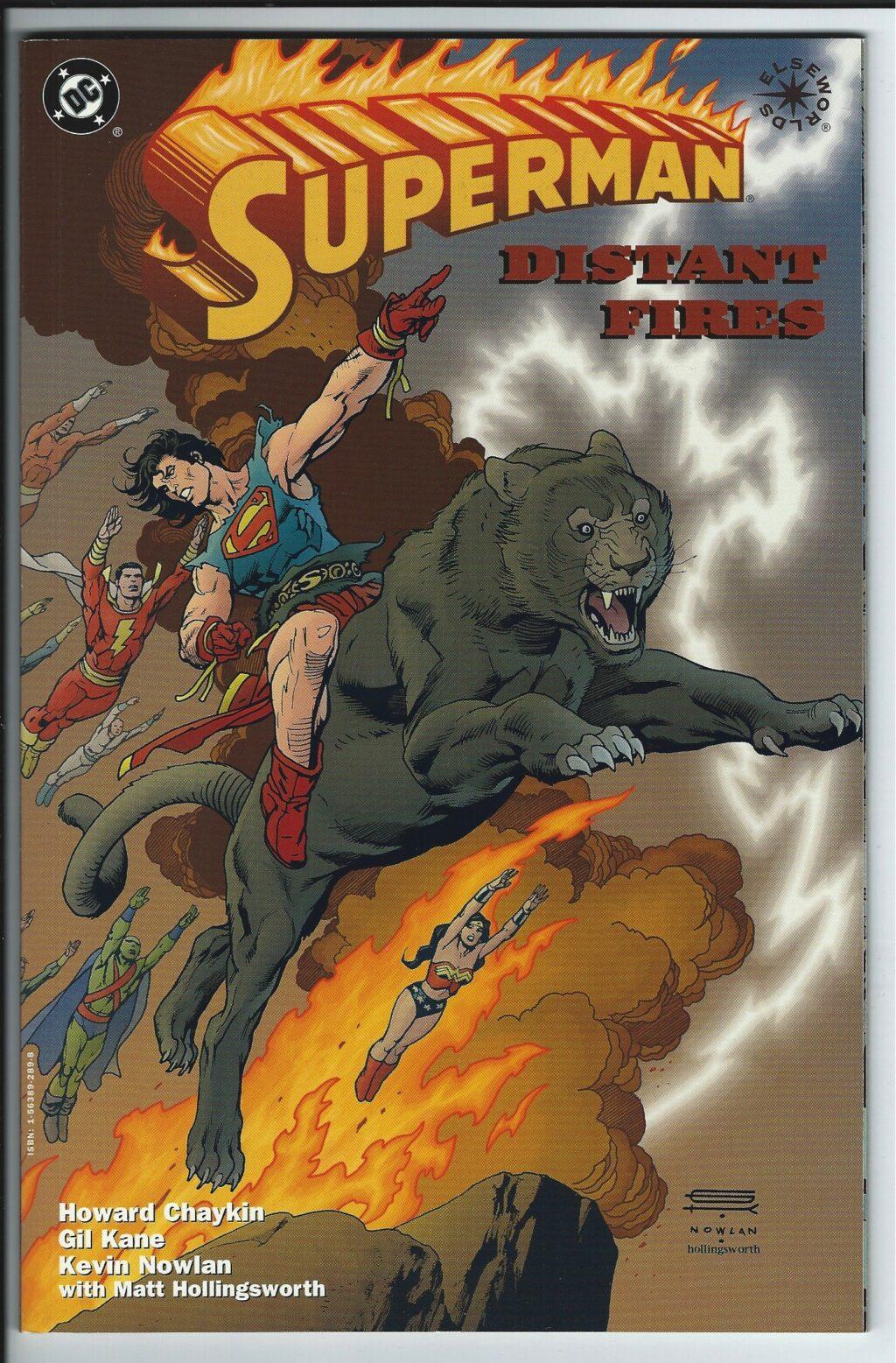 superman distant fires