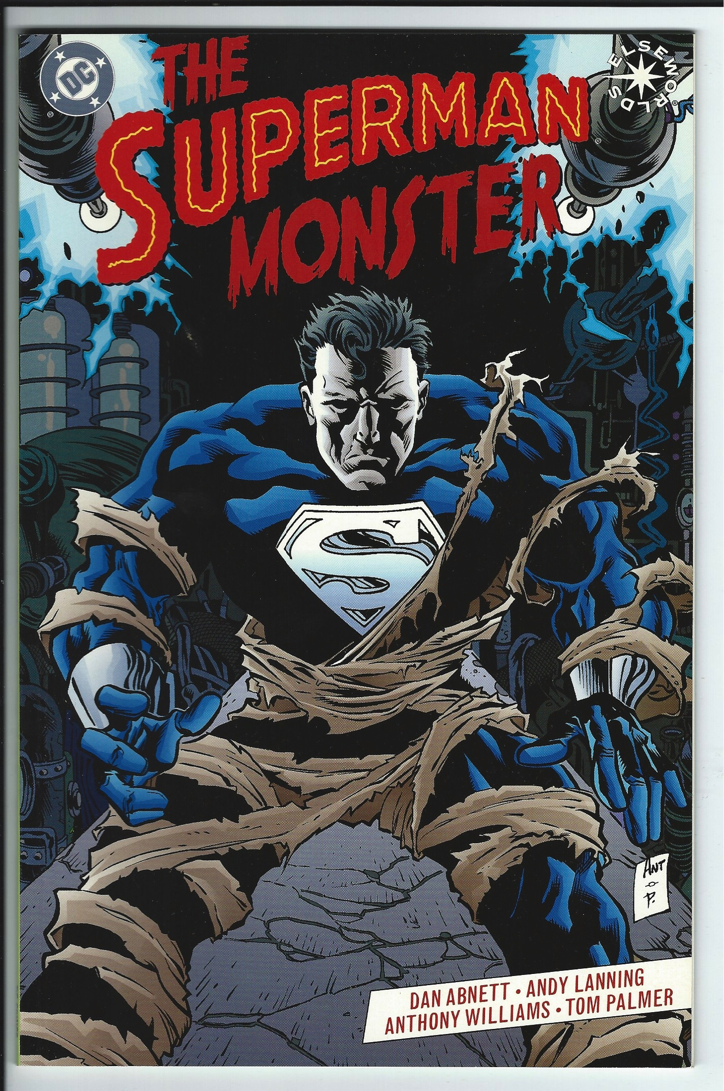 DC Comics Elseworlds The Superman Monster Graphic Novel