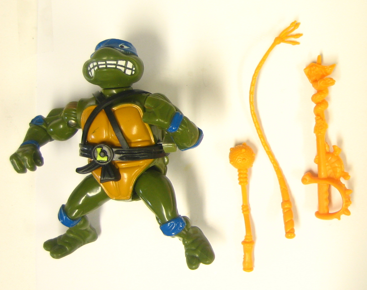 Tmnt Original Series Sword Slicin Leonardo Action Figure The