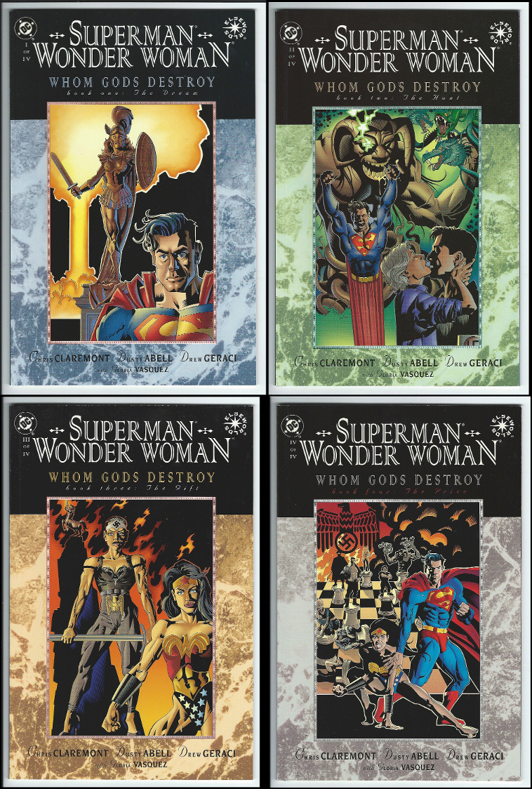 DC Elseworlds Superman Wonder Woman: Whom Gods Destroy 1 - 4