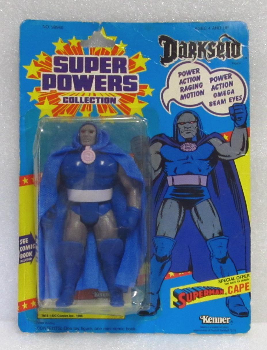 Super Powers Darkseid Action Figure - Mint on Card