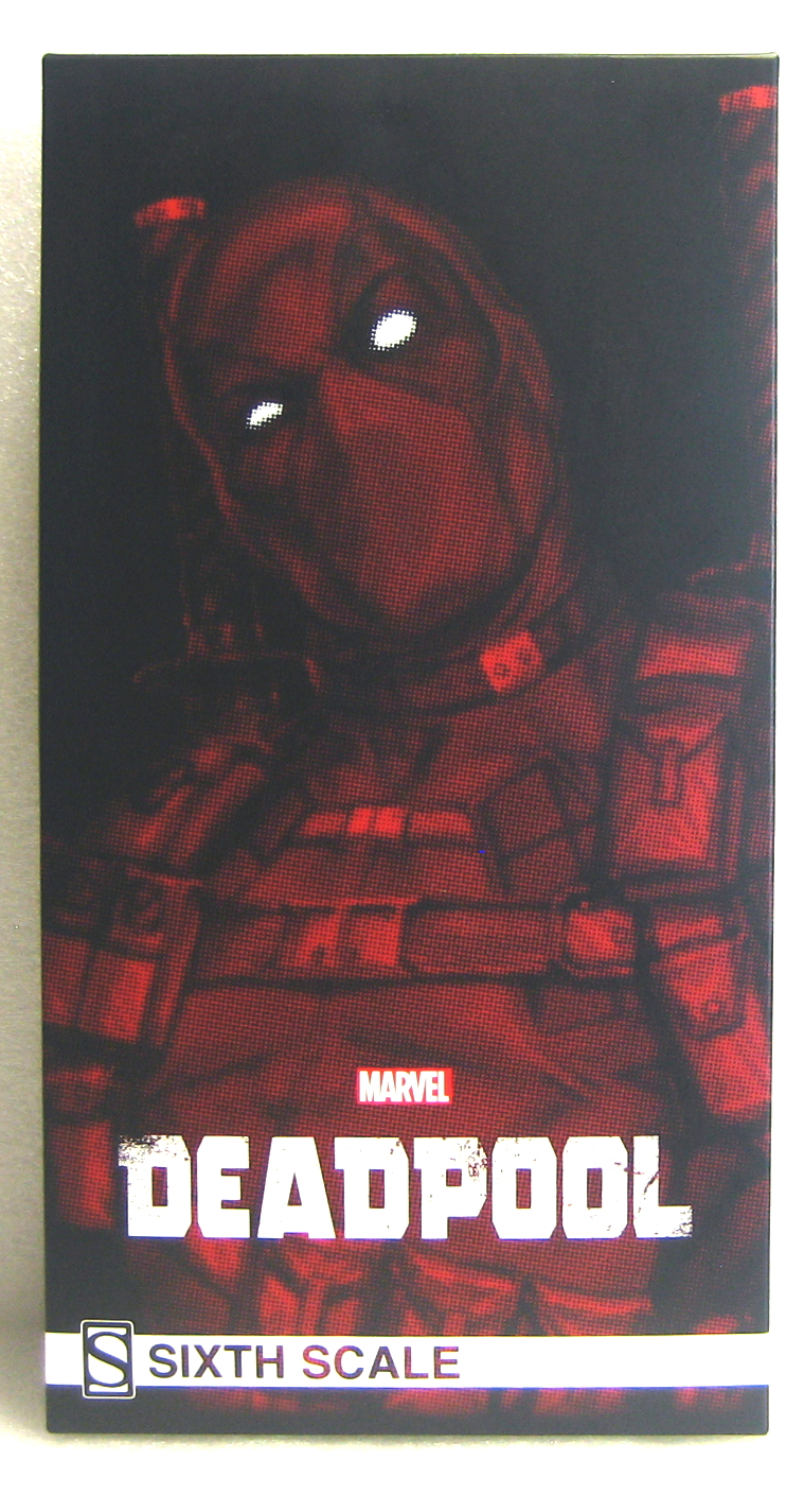 sideshow collectibles deadpool box front
