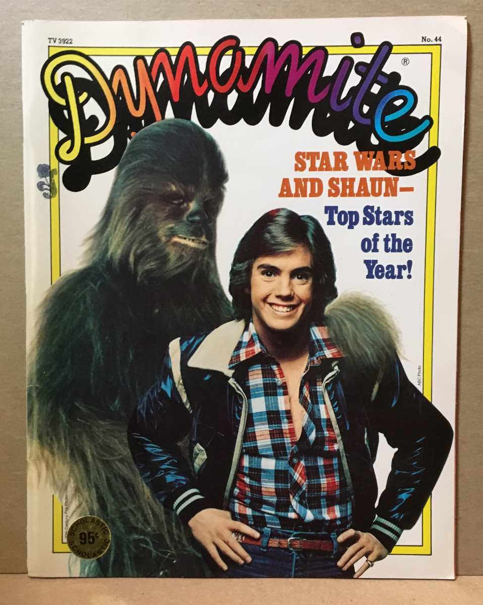 1978 Dynamite Magazine #44 - Star Wars Chewbacca cover - Complete