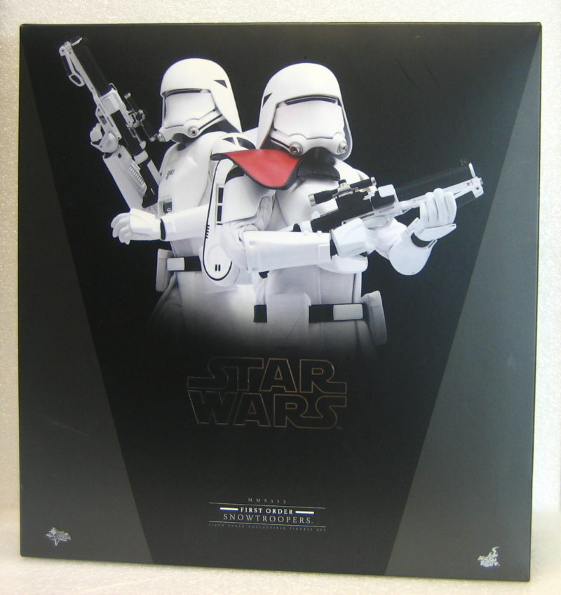 hot toys star wars force awakens snowtroopers