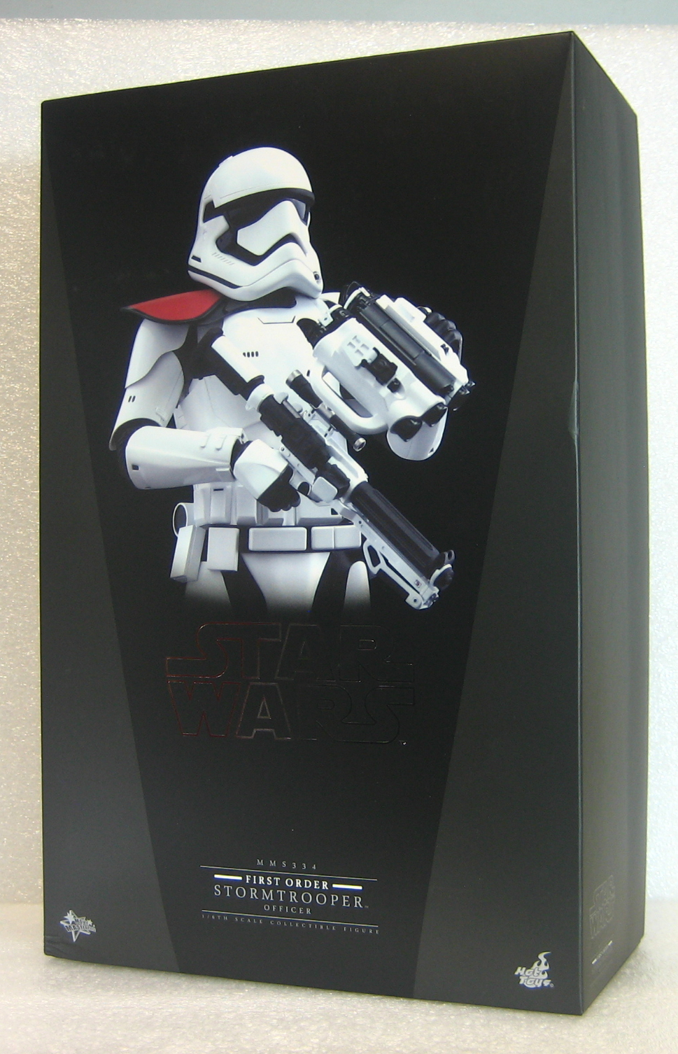 Hot Toys Star Wars First Order Stormtrooper Officer 1:6 Scale Figure