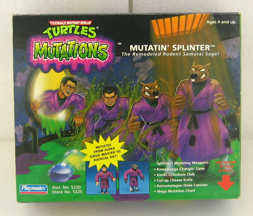 TMNT Mutatin' Splinter 1