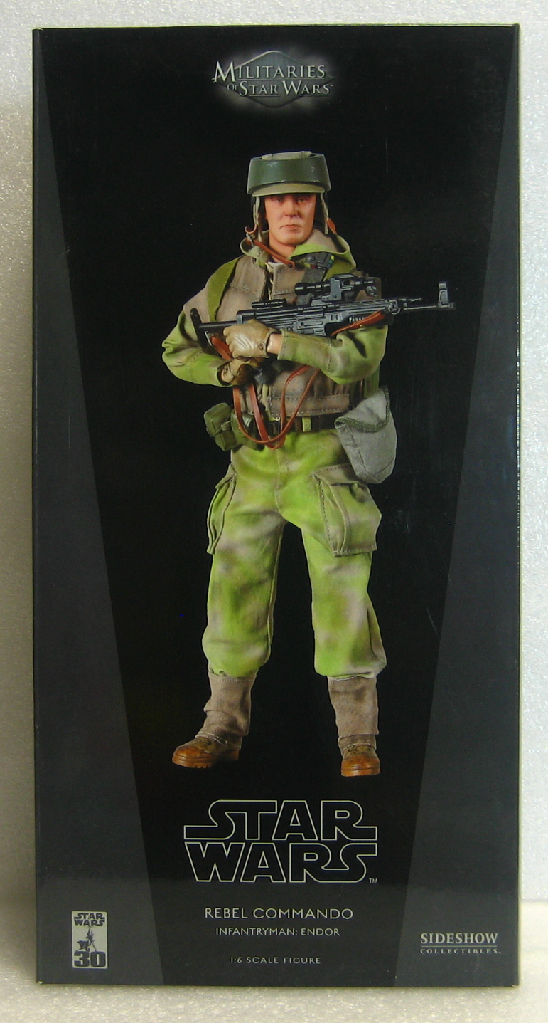 Sideshow Collectibles Star Wars Rebel Commando 1:6 Scale Figure