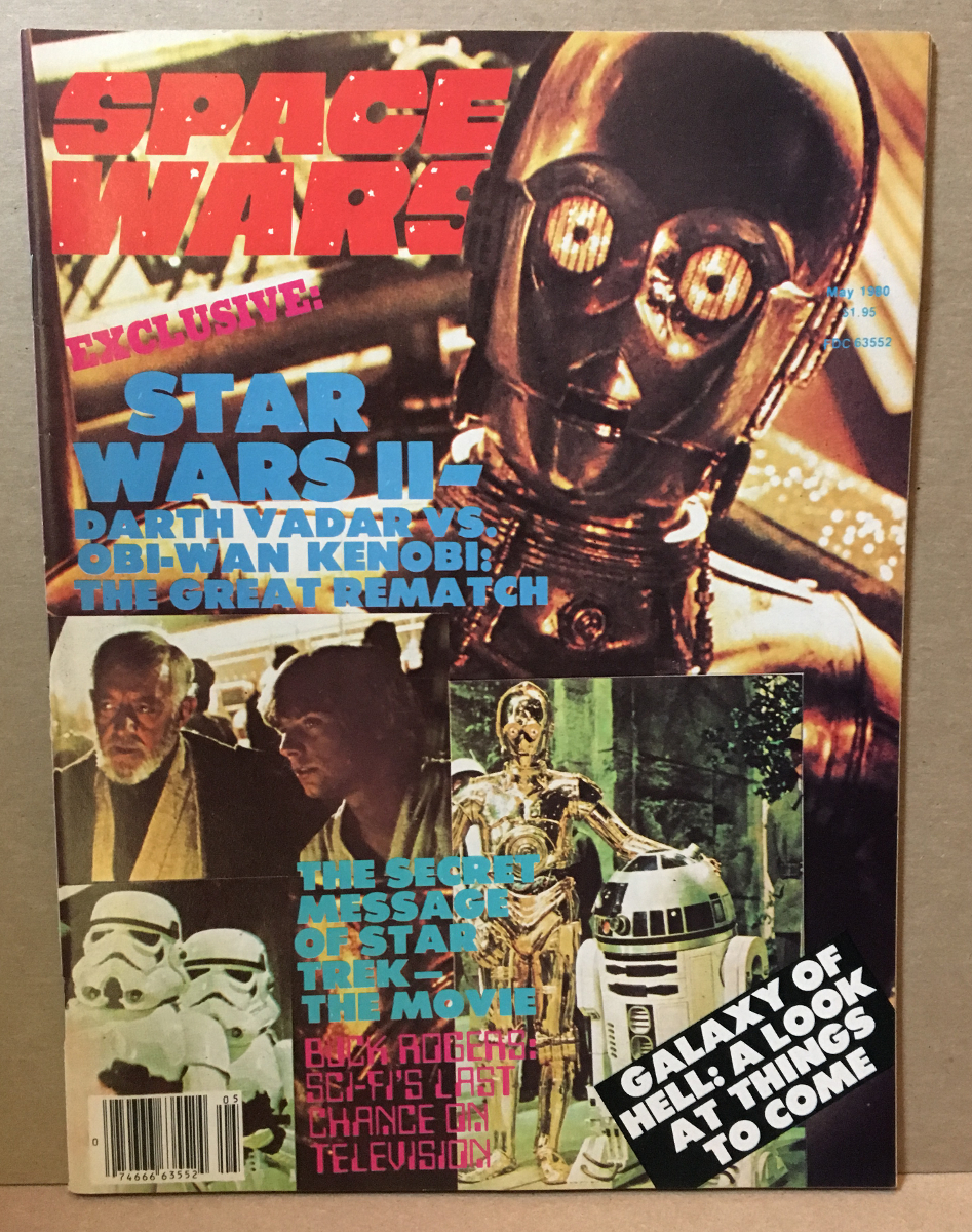 1980 Space Wars Magazine #2 - Star Wars Issue
