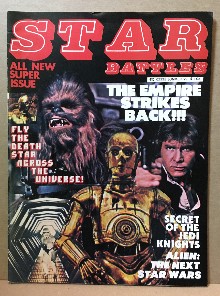 1979 Star Battles Magazine #2 - Star Wars: The Empire Strikes Back Preview