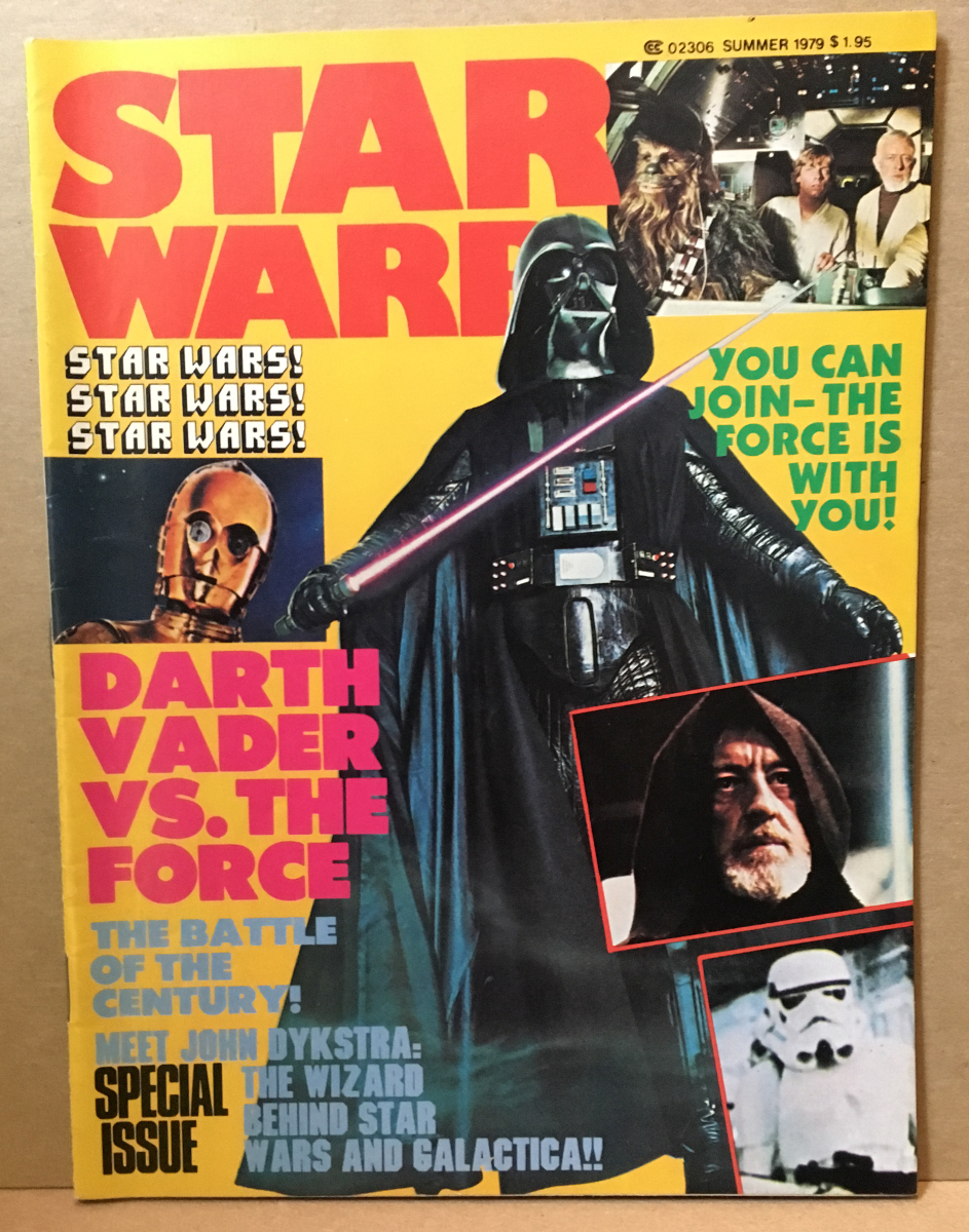 1979 Star Warp Magazine #2 - Star Wars Issue
