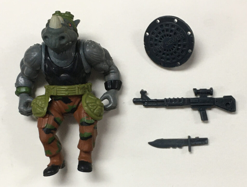 tmnt rocksteady action figure 1