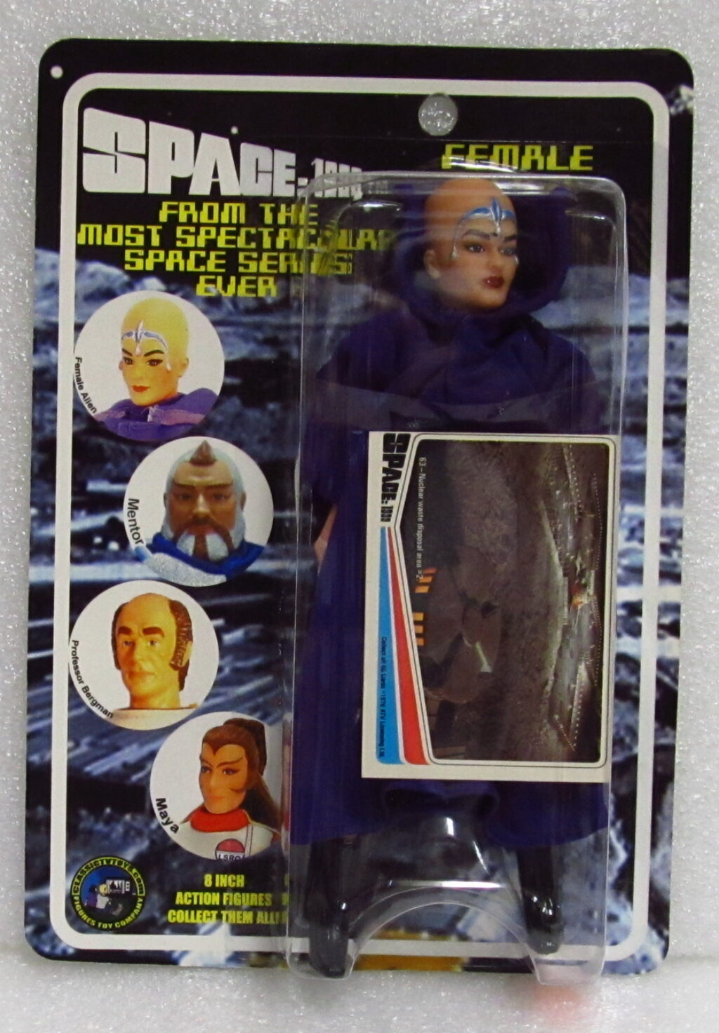 figures toys company space 1999 female alien figure