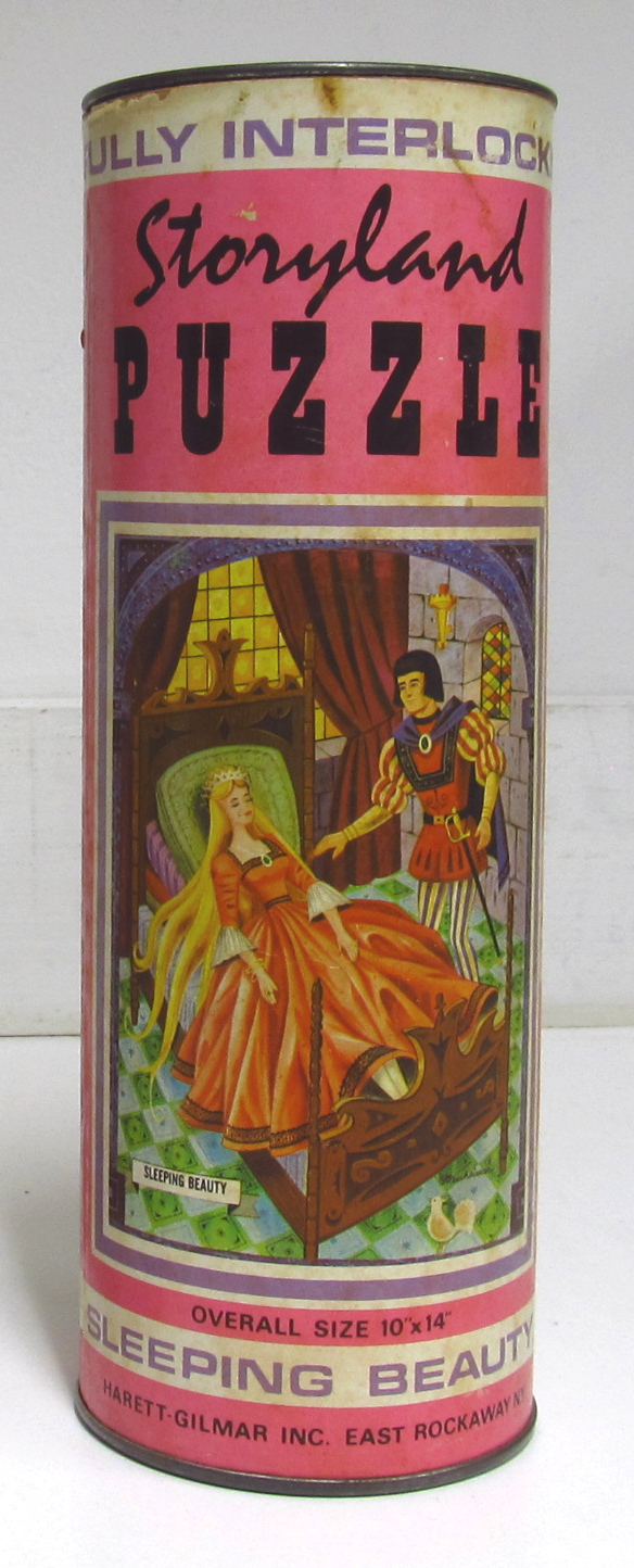 hg toys sleeping beauty storyland puzzle 1