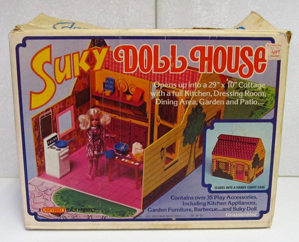 matchbox suky doll house 1