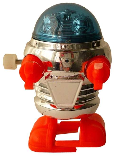 tomy wind-up robot category