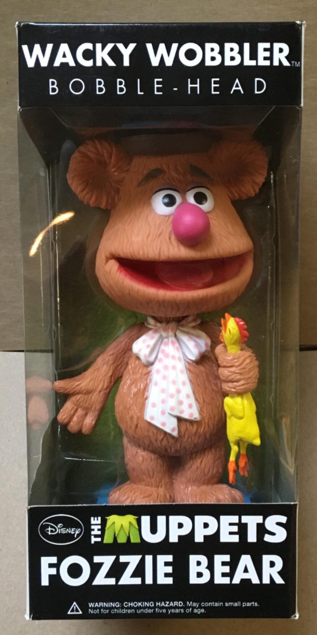 muppets fozzie bear funko wacky wobbler 1
