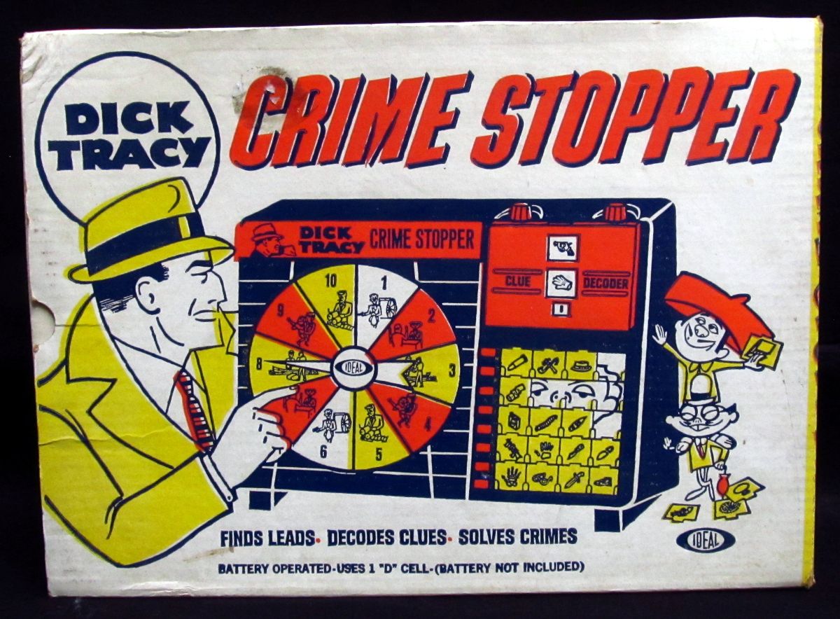 ideal dick tracy crime stopper game 1