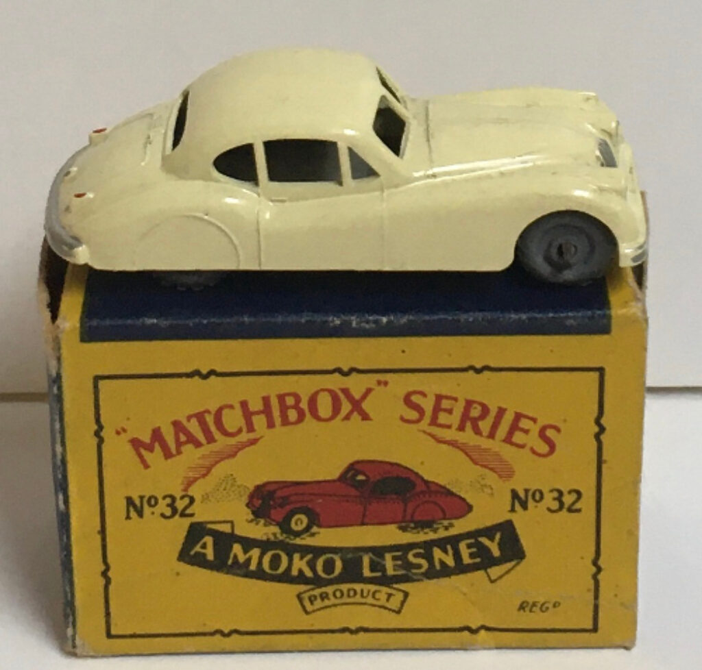 matchbox 32-a jaguar xk140 coupe 1