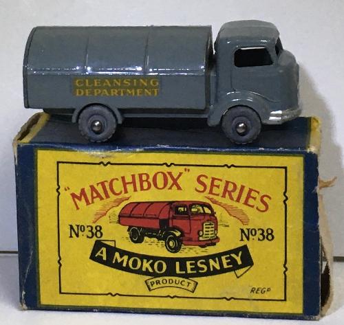 matchbox 83-a refuse wagon 1