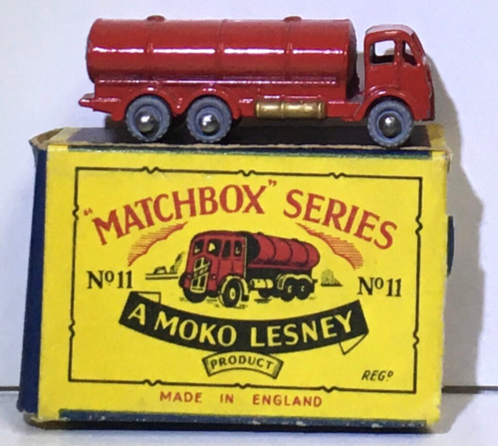 matchbox 11-a esso road tanker 1