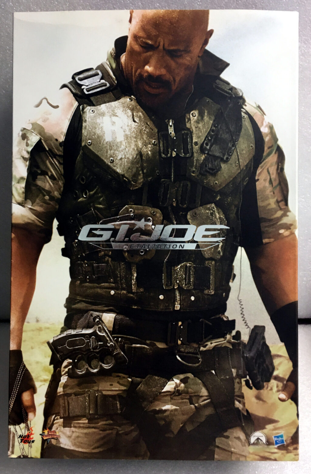 hot toys g.i. joe retaliation roadblock 1:6 scale figure 1