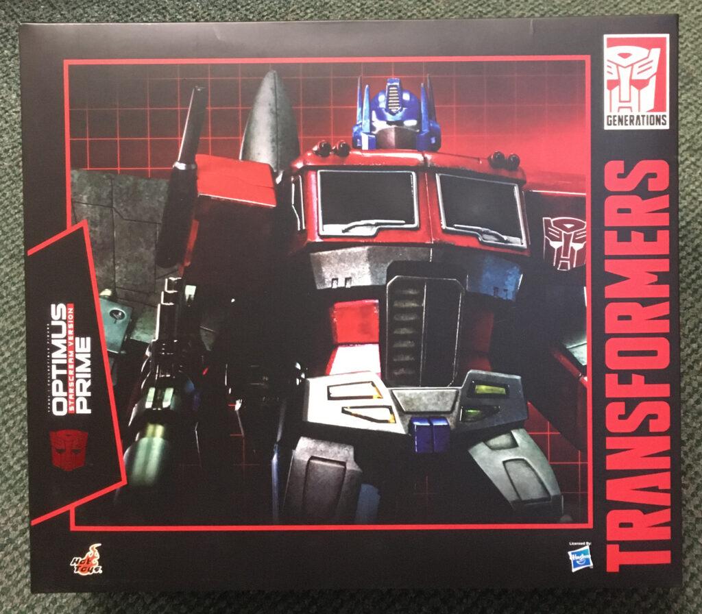 hot toys optimus prime starscream version figure 1