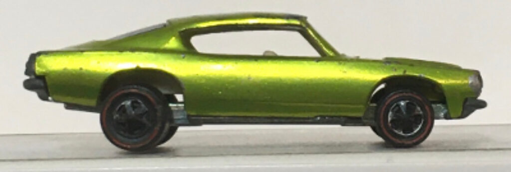 mattel hot wheels red line antifreeze custom barracuda 1