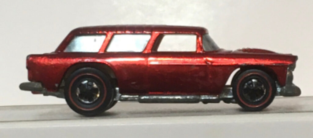 mattel hot wheels red line red classic nomad 1