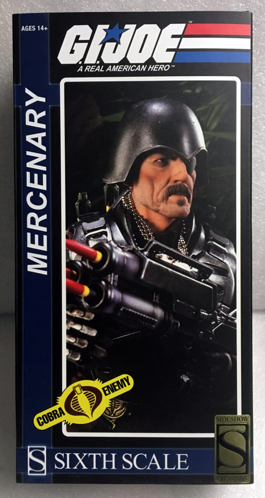 sideshow exclusive g.i. joe major bludd 1:6 scale figure 1