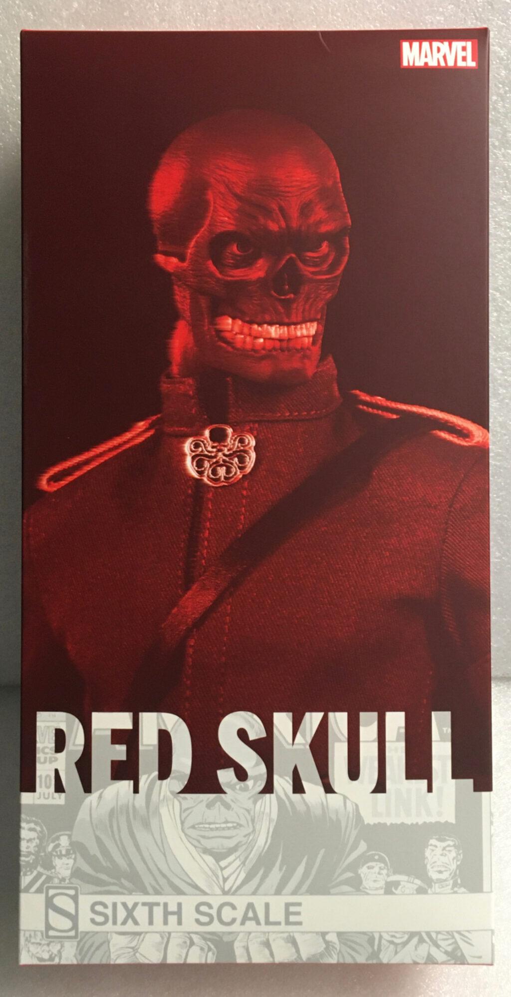sideshow marvel comics red skull 1:6 scale figure 1