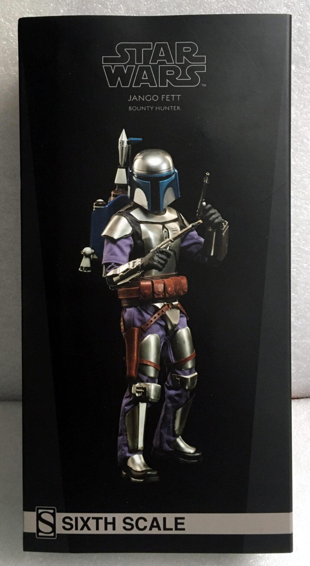 sideshow star wars jango fett 1:6 scale figure 1