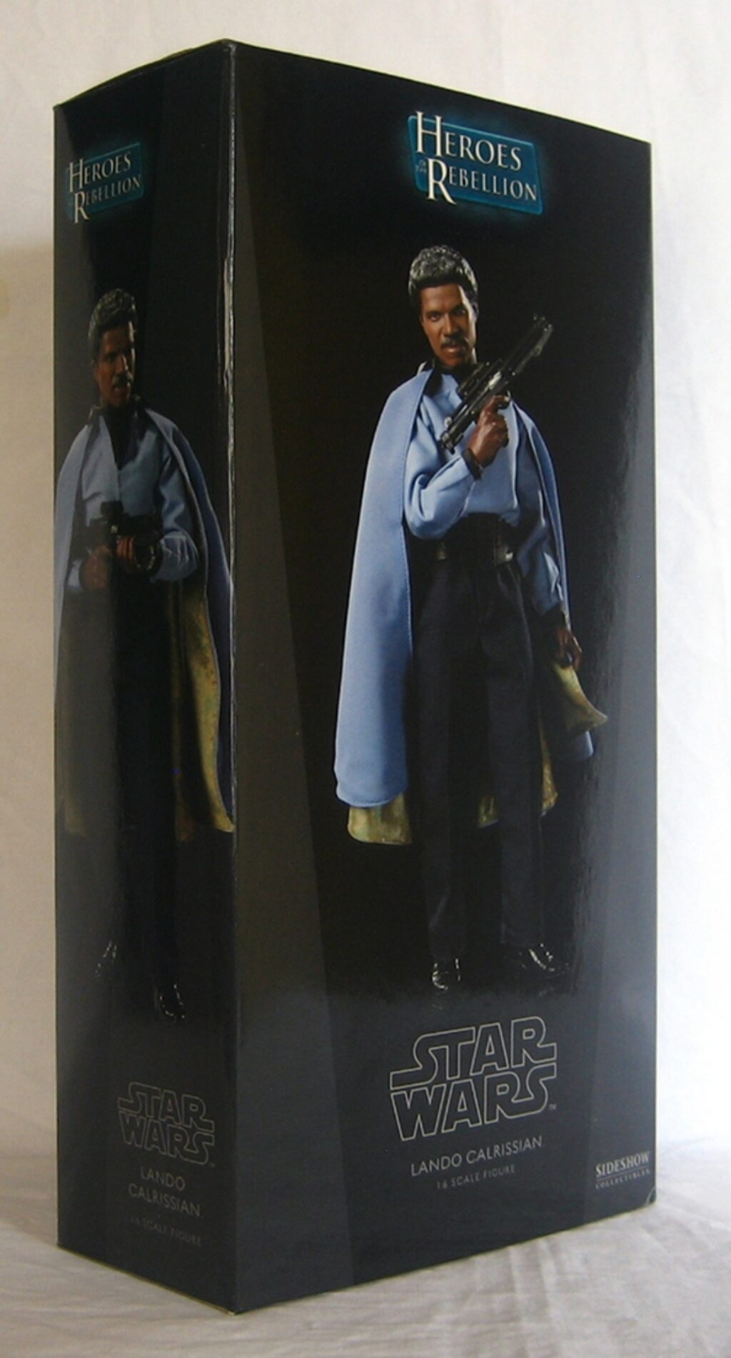 sideshow star wars lando calrissian 1:6 scale figure 1