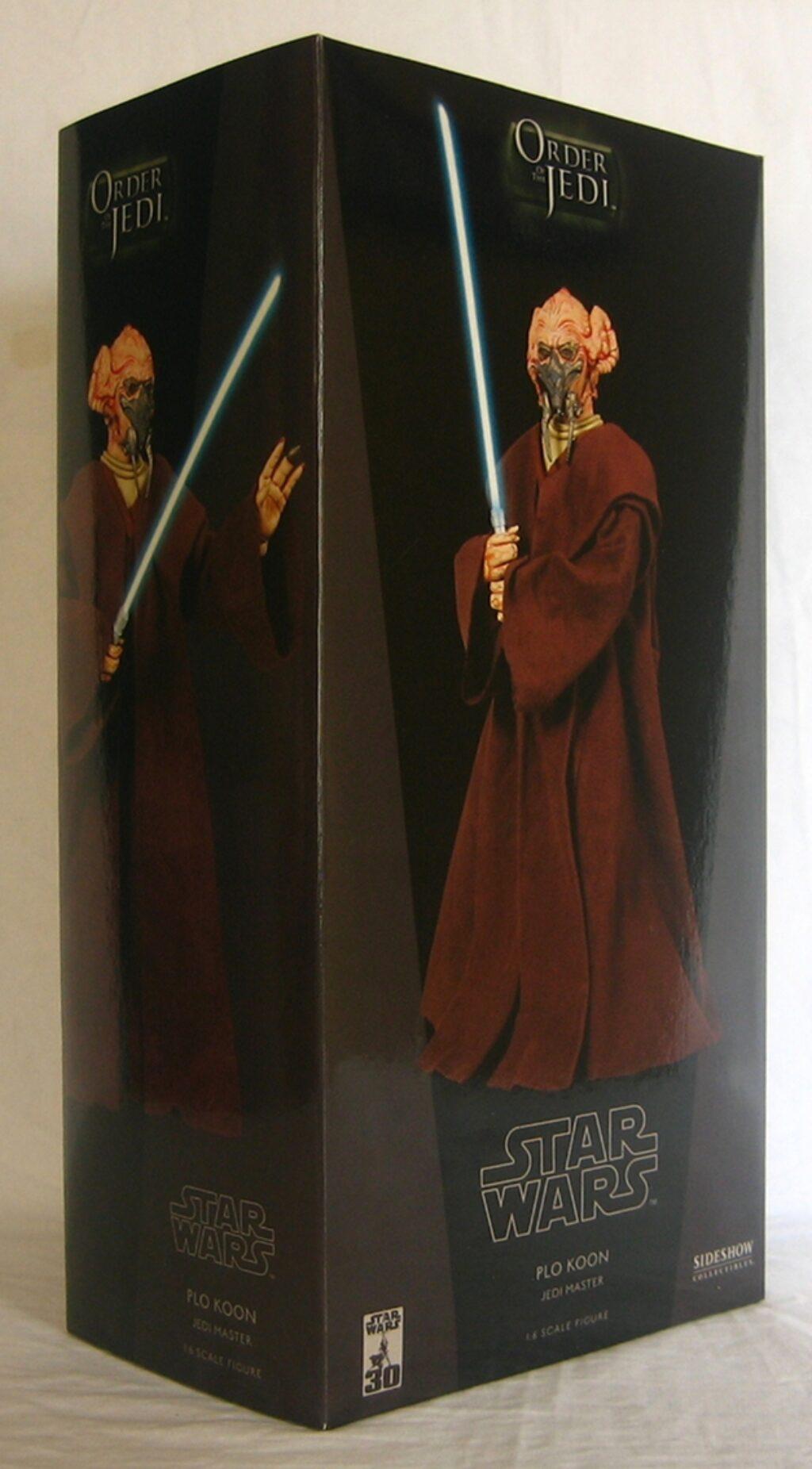 sideshow star wars plo koon 1:6 scale figure 1