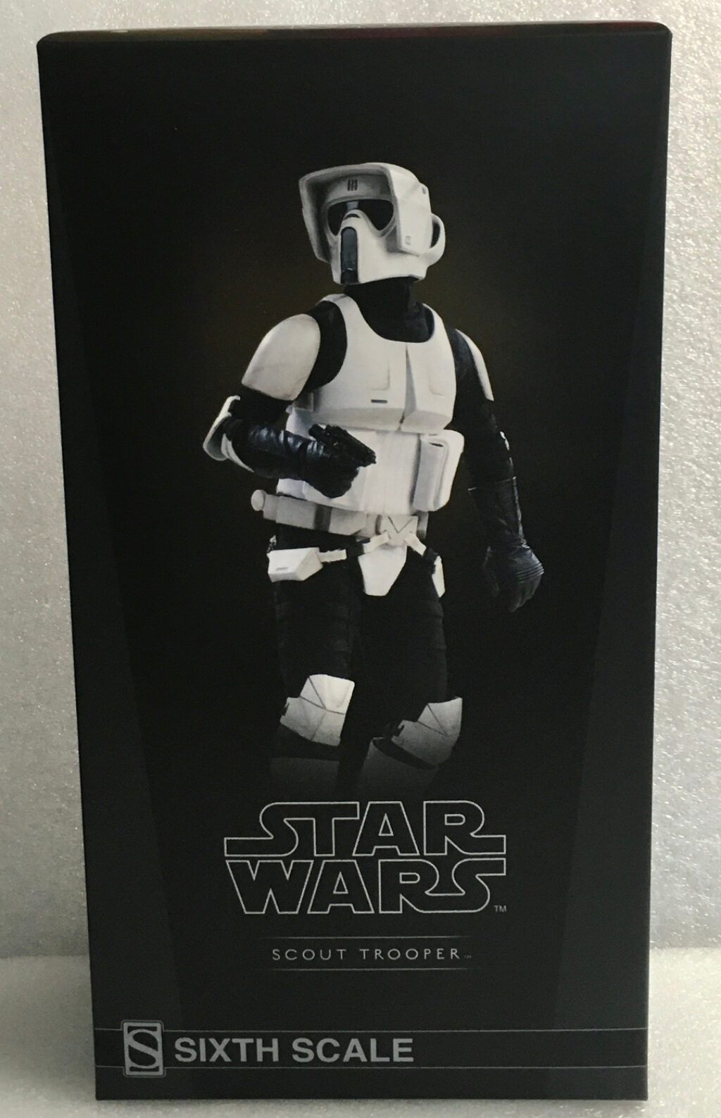 sideshow star wars scout trooper 1:6 scale figure 1