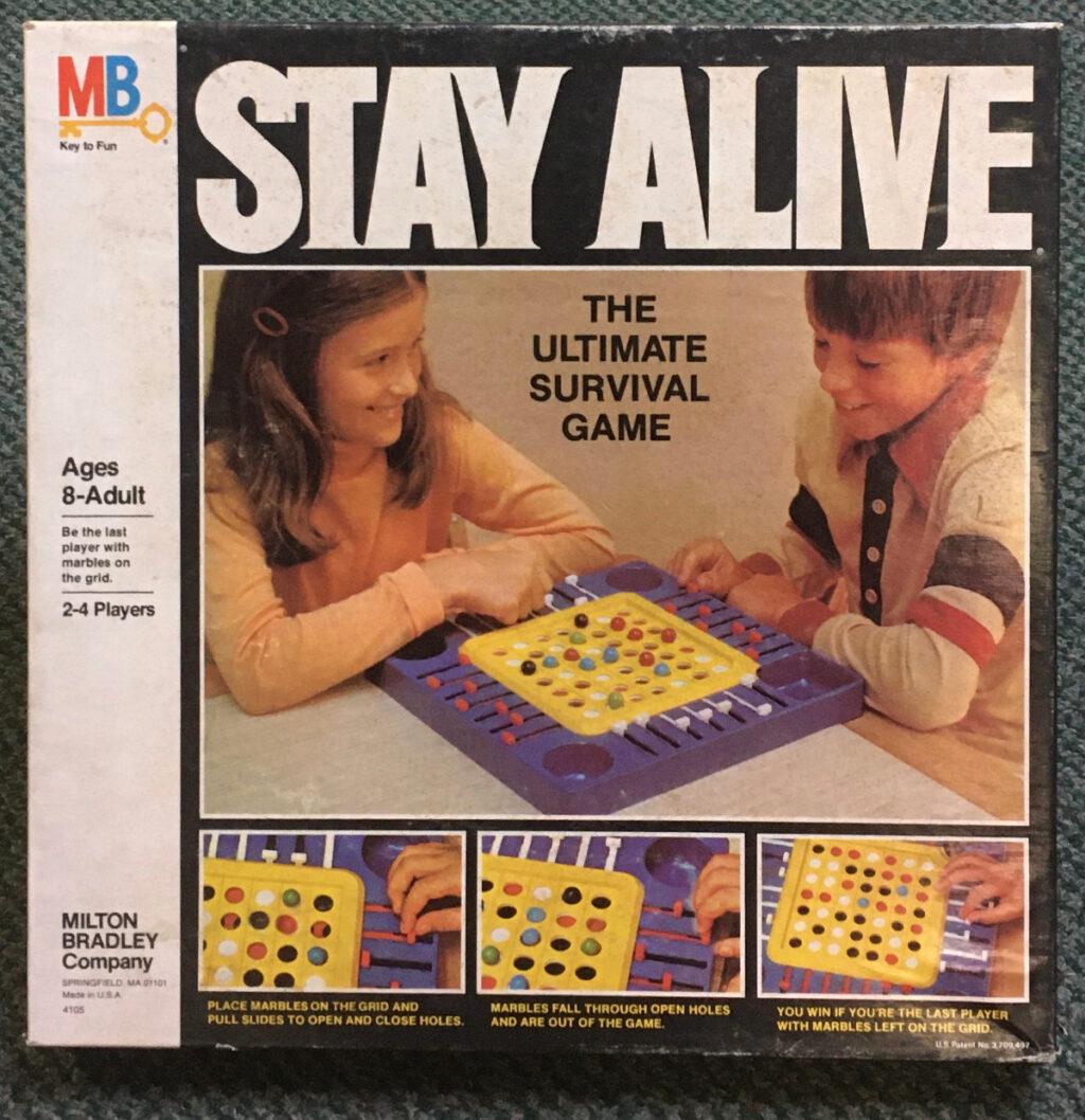 milton bradley stay alive game 1