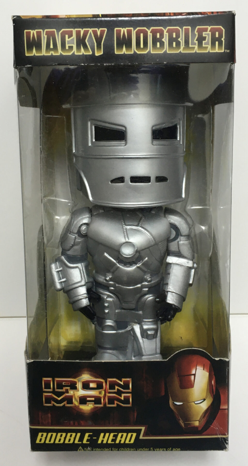 funko iron man mark i wacky wobbler 1