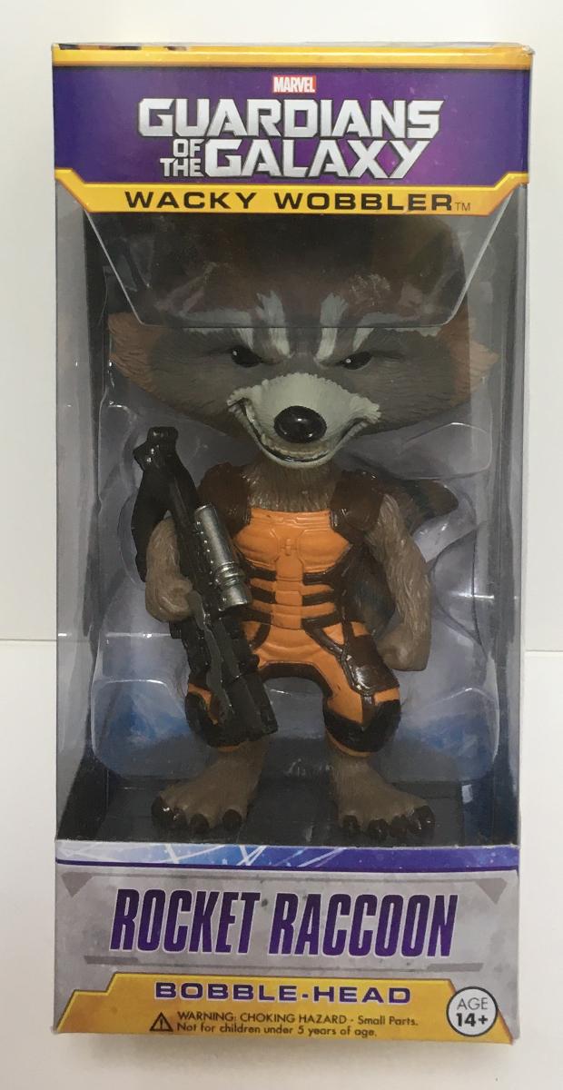 funko gotg rocket raccoon wacky wobbler 1