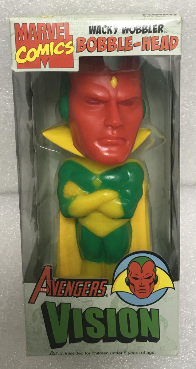 funko avengers vision wacky wobbler 1
