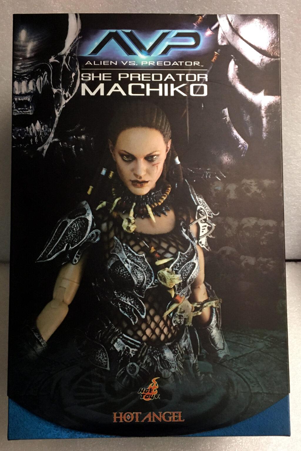 hot toys avp she predator machiko 1:6 scale figure 1