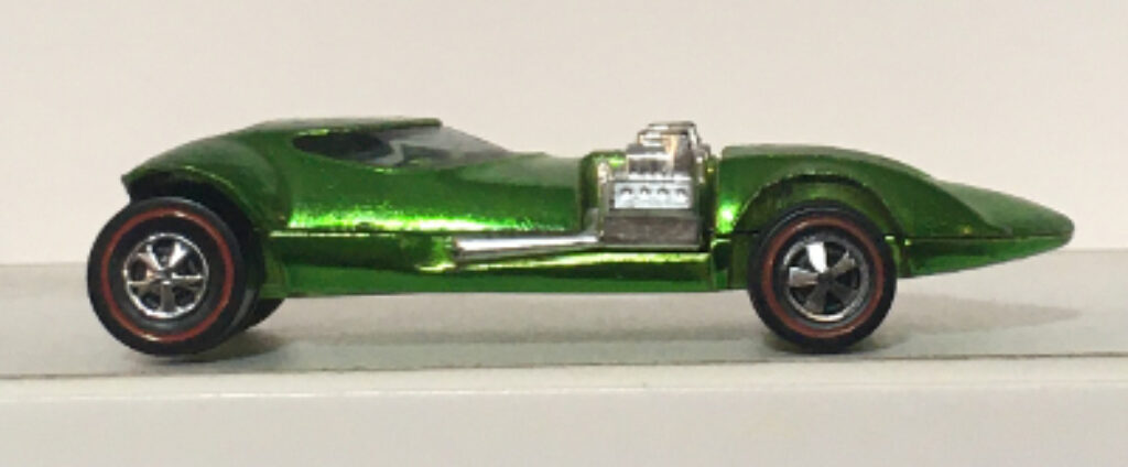mattel hot wheels red line apple green twin mill 1