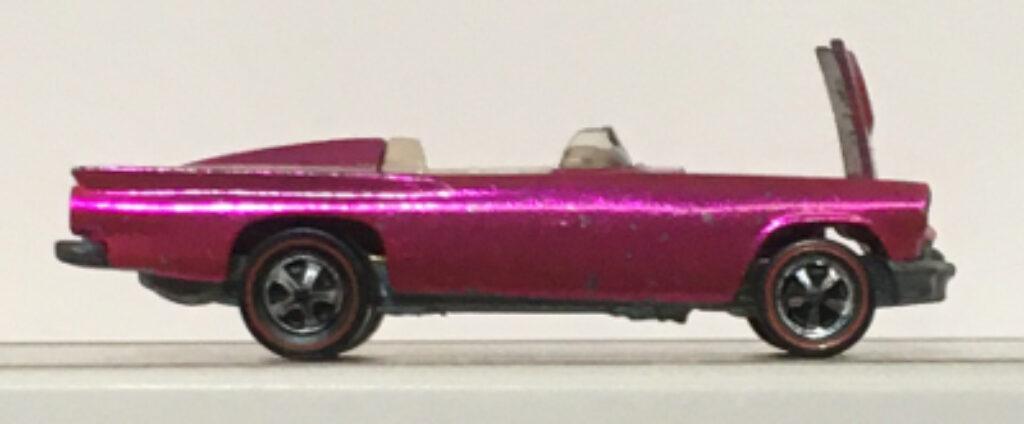 hot wheels red line hot pink custom '57-bird 2