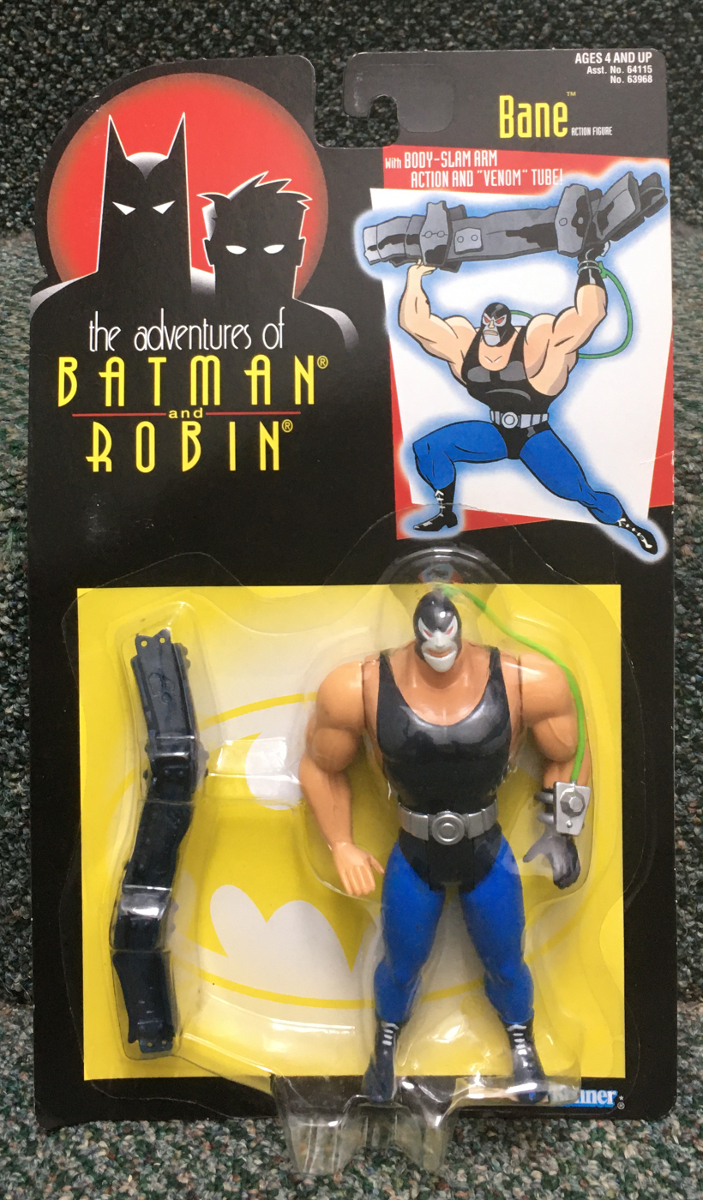 kenner batman the animated series bane figure 1
