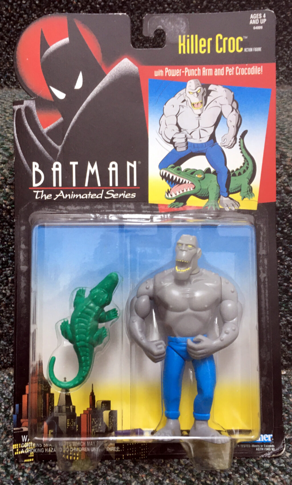 kenner batman the animated series killer croc figure 1