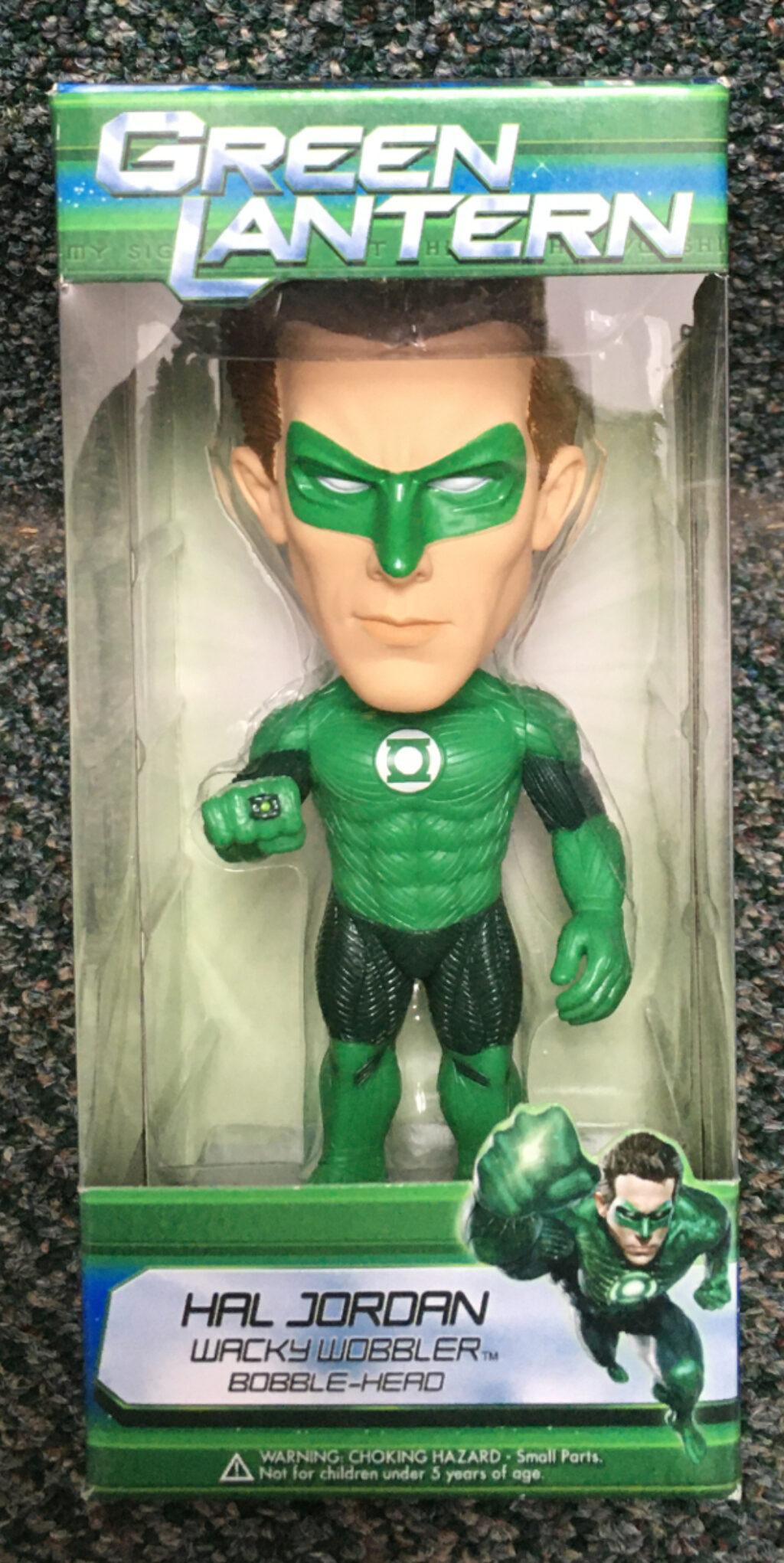 funko hal jordan green lantern wacky wobbler 1