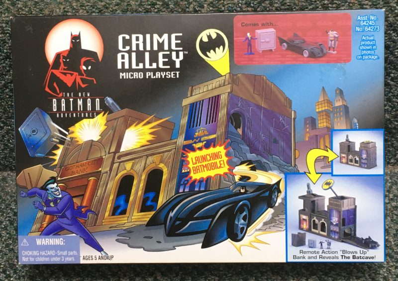 kenner the new batman adventures crime alley micro playset 1