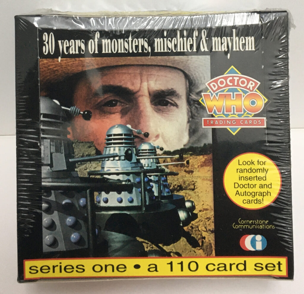 cornerstone doctor who series one trading cards 1