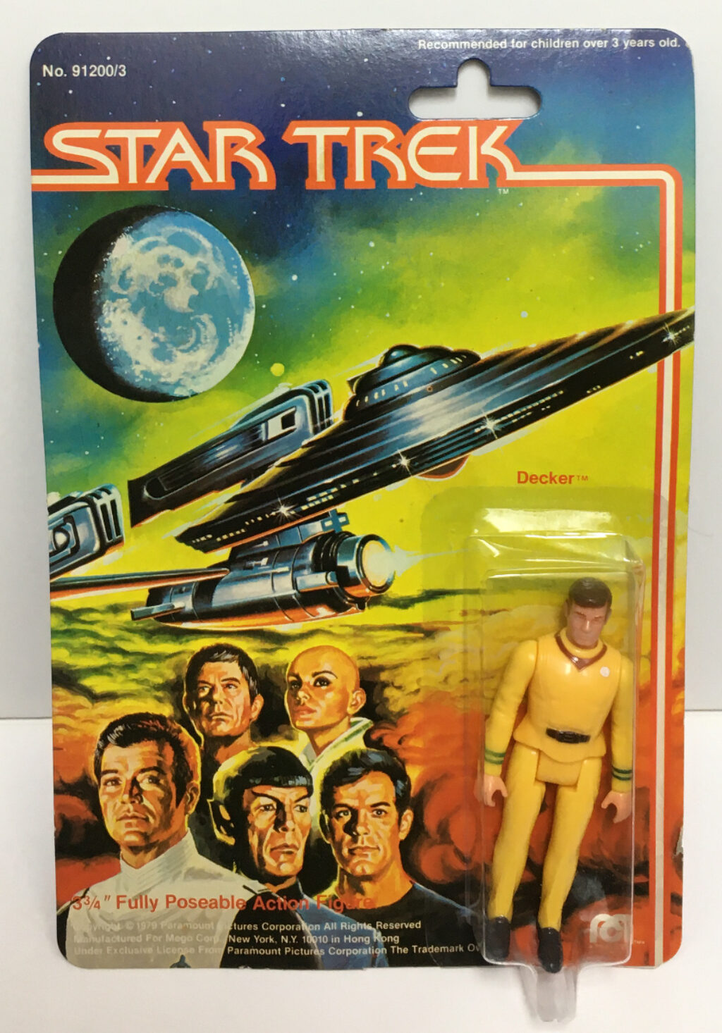 mego star trek the motion picture decker action figure 1