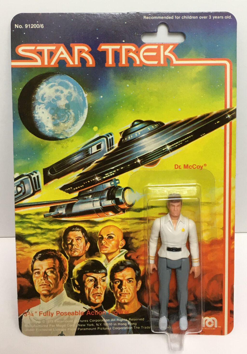 mego star trek the motion picture dr mccoy action figure 1