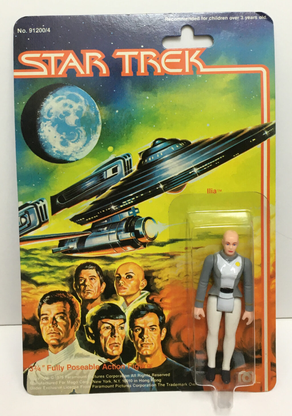 mego star trek the motion picture ilia action figure 1
